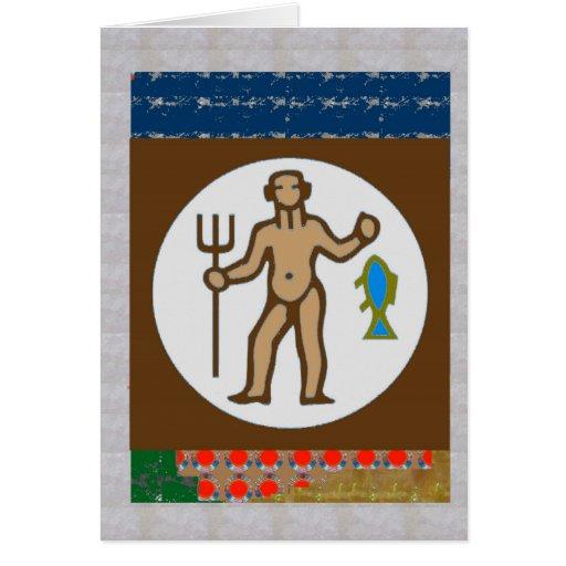 Astrology Practioner  Symbols Giveaways ZODIAC FUN Greeting Cards