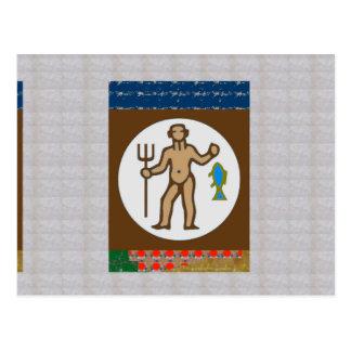 Astrology Practioner  Symbols Giveaways ZODIAC FUN Postcard