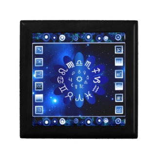 Astrology Small Square Gift Box