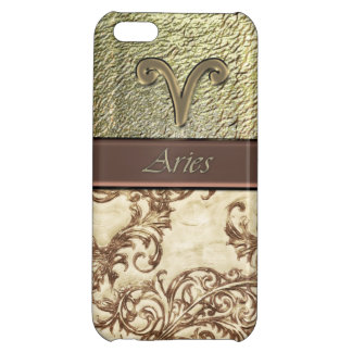 Astrology Vintage Damask Zodiac Aries Sun Sign iPhone 5C Cover