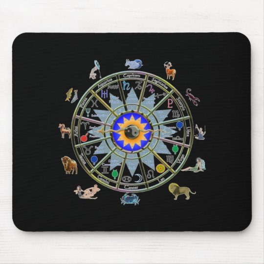 Astrology - ZODIAC-  Signs Mouse Mat