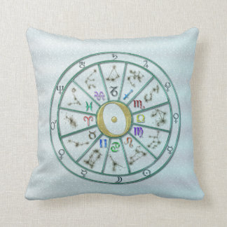Astrology Zodiac Wheel +gift Cushion