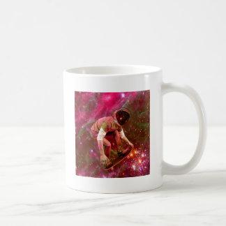 Astronaugt Skateborder Coffee Mug