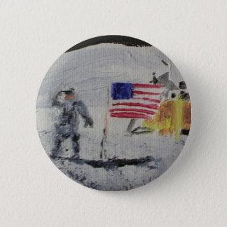 astronaut (2).JPG 6 Cm Round Badge