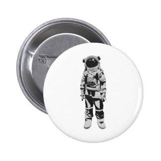 Astronaut 6 Cm Round Badge