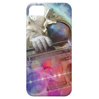Astronaut Boombox iPhone 5 Cover