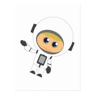 Astronaut Boy Post Card