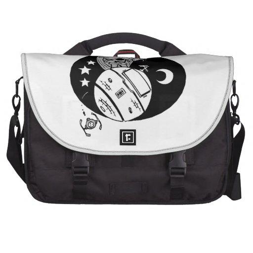 Astronaut Caricature Laptop Commuter Bag