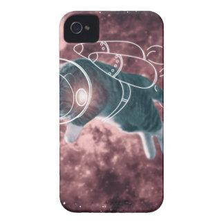 Astronaut Cat Kitten Funny Cosmos Case-Mate iPhone 4 Cases