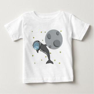 Astronaut Dolphin Baby T-Shirt