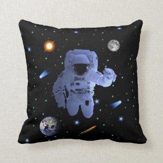 Astronaut Explorer Throw Pillow