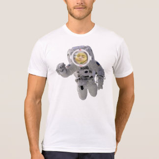 Astronaut Floating Space - Highly Customizable Shirt