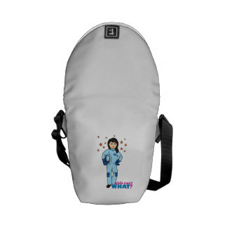 Astronaut-Girl 2 Courier Bags