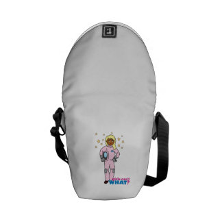 Astronaut-Girl 4 Courier Bags