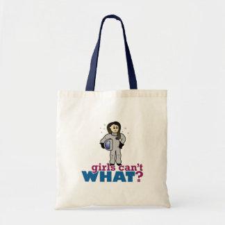 Astronaut Girl Budget Tote Bag