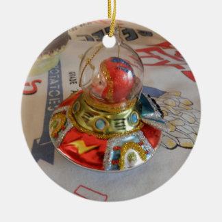 astronaut Glass Ornament on Idaho Vintage
