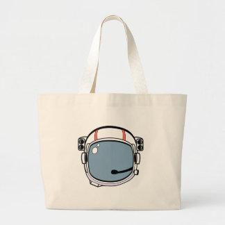 Astronaut Helmet Large Tote Bag