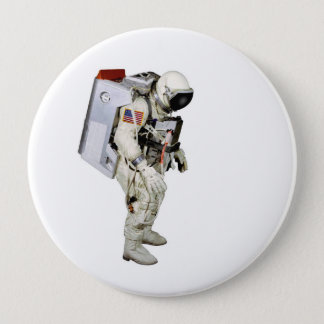 Astronaut image for Giant-Round-Badge 10 Cm Round Badge