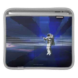 Astronaut in Space iPad Sleeve