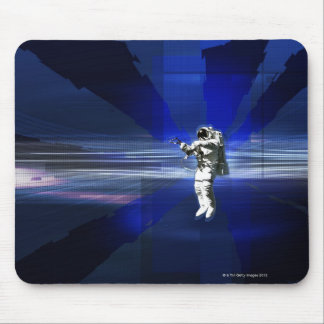 Astronaut in Space Mouse Pad