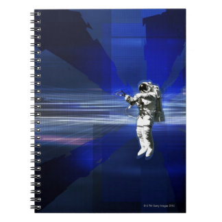 Astronaut in Space Notebook