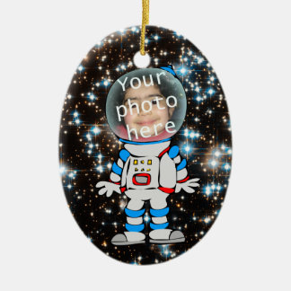 Astronaut in Training - Astro Child Template Christmas Ornament