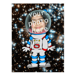 Astronaut in Training - Star Child Template Post Card