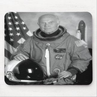 Astronaut John Glenn Mousepads