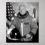 Astronaut John Glenn Poster