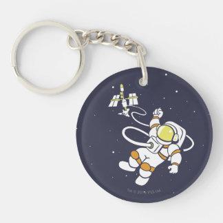 Astronaut Key Ring