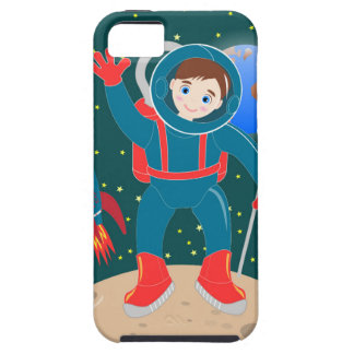 Astronaut kid birthday party iPhone 5 cover