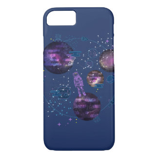 Astronaut Lost in Space iPhone 7 Case