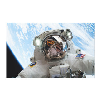 Astronaut Mike Hopkins Gallery Wrapped Canvas