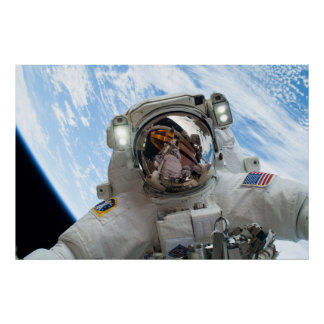 Astronaut Mike Hopkins Poster