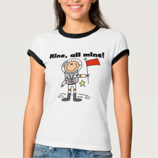 Astronaut Mine All Mine t-shirts and gifts