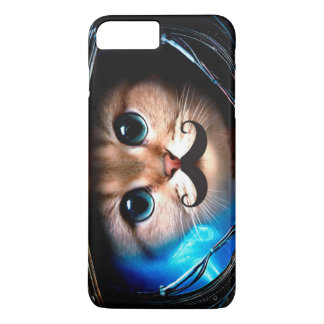 Astronaut Mustache Cat iPhone 7 Plus Case