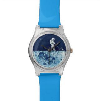 Astronaut on Moon Watch