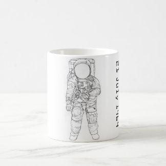 Astronaut on the Moon Coffee Mug