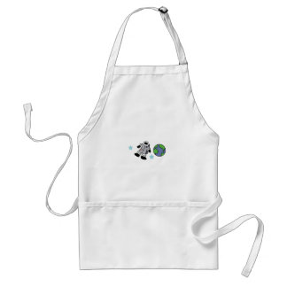 ASTRONAUT OUTER SPACE APRON