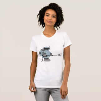 Astronaut Pressure Wash Womens T-Shirt
