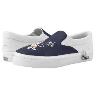 Astronaut Slip-On Shoes