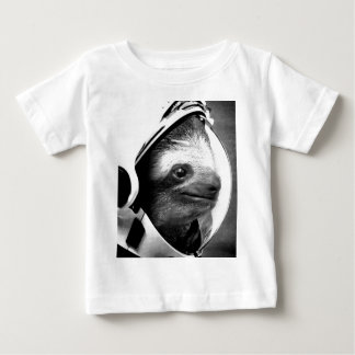 Astronaut Sloth Baby T-Shirt