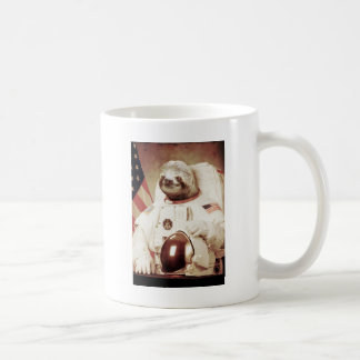 Astronaut Sloth Coffee Mug