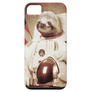 Astronaut Sloth iPhone 5 Case