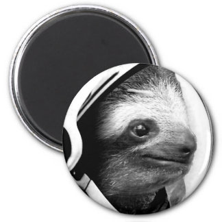 Astronaut Sloth Magnet