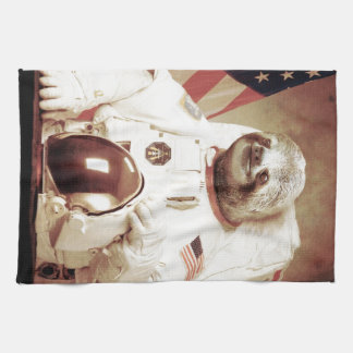 Astronaut Sloth Tea Towel