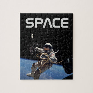 Astronaut Space Walk Jigsaw Puzzle