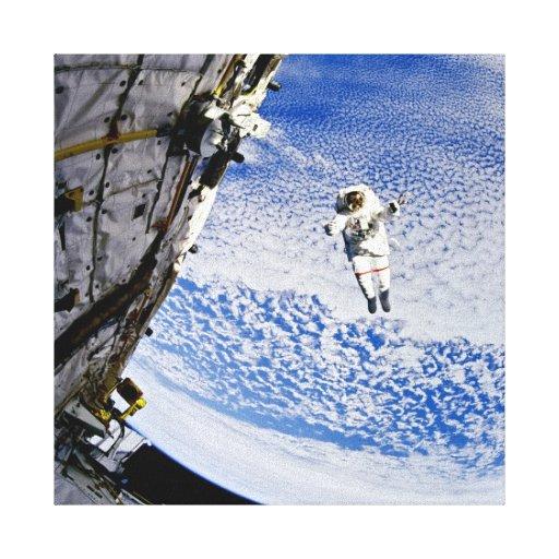 Astronaut Spacewalk Gallery Wrap Canvas