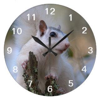 Astronaut Squirrel Large Clock