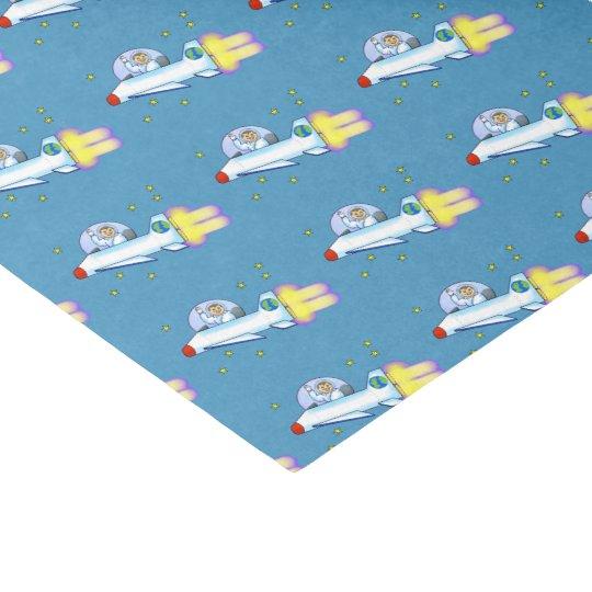 Astronaut Tissue Paper